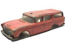 🚗 Vintage 1960s DINKY TOYS NASH RAMBLER CANADIAN FIRE CHIEFS CAR BODY ONO #257