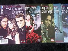 DC The Vampire Diaries #1-6 (2014) Full Series Run! VF Ties Into Hot CW Show