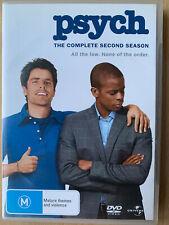 Psych Season 2 DVD Box Set Comedy Series Australian Release