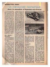 1973 document (ref 4727) ELP auto: course 2 cv Argenton sur creuse 1p