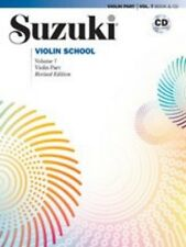 Suzuki Violin School Violin Part & CD, Volume 7 (Revised) ,43021