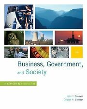 Business, Government and Society: A Managerial Perspective, Text and Cases, 12th