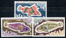 TAAF 1971 68-70 ** POSTFRISCH TADELLOS SATZ FISCHE (I2303