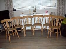 Unbranded Pine Chairs with 1 Pieces