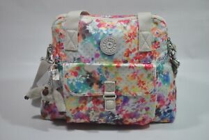 New With Tag Kipling PAHNEIRO Medium Handbag Shoulder Bag - Garden Happy