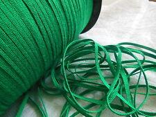 biais vintage ruban plat cordon fin vert prairie lacet corsage 10 mètre