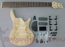 Bargain Musician - BK-005 - DIY Unfinished Project Luthier BASS Guitar Kit