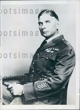 1934 US Army Major General Lucius Holbrook Press Photo