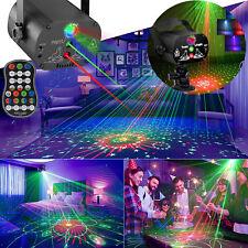 USB 240 Muster Laser Projektor RGB LED Party DJ Disco Bühnenbeleuchtung Hochzeit