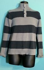 CARBON men's  mock neck sweater size (M)