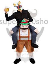 Carry Me Bavarian Beer Guy Mascot Costume Oktoberfest Fancy dress Garden Gnome