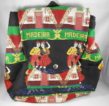 Boy Girl Unisex Backpack Rucksack Travel Shoulder School Bag Madeira Portugal