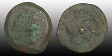 Ptolemy III AE15, Kyrene mint, 264-222 BC, Obv: Ptolemy I, Rev: Libya, Svor. 872