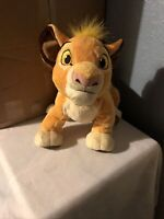 """Disney Store Lion King Simba 14"""" Plush Soft Toy - Official Stamped Collectable"""