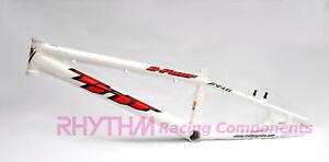 TNT Bicycles C-Four EXPERT XXL BMX Race Frame - White
