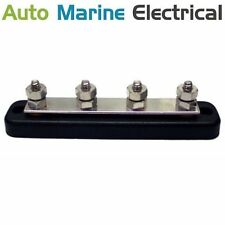 Auto & Marine Power Distribution Bus Bar 4 Way Stud - 150A