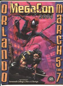 MegaCon Program Book 2004-Spider-Man Wolverine-cover-guest & artist bios