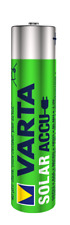 Varta Accu Akku Solar 550mAh AAA Wiederaufladbar Rechargeable Sonnenlicht