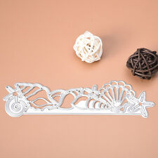 Shell Dies Metal Cutting Stencil For Scrapbooking Paper Cards Album Decor DIY