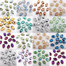 50Pcs Czech Crystal Glass Bicone Faceted Spacer Loose Beads Jewelry DIY 8*6mm