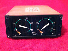 PENN AIRBORNE PRODUCTS DUAL MODULE FUEL QUANTITY INDICATOR P/N 233264