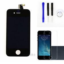 Für Apple iPhone 4 Display Retina LCD Touch Screen Schwarz+Werkzeug+Schutzfolie