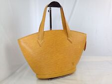 31418 Louis Vuitton Yellow Epi Genuine Leather Saint Jacques Handbag Bag Purse