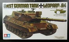 Lot #1 Tamiya 1/35 West German Leopard 1A4 MBT