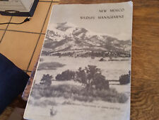 New Mexico Wildlife Management 1967 Softcover New Mexico Department of Game