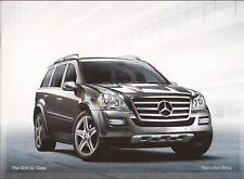 2010 10 Mercedes Benz GL Class Original  brochure MINT