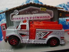 2012 EMT Design Ex HIGHWAY RESCUE FIRE TRUCK∞SILVER∞New loose Matchbox