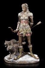 Skadi Figurine - nordique Déesse Le hiver - VERONESE Viking loups dieux