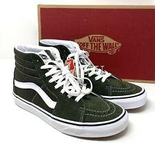 VANS SK8 - HI Forest Suede Green Men's  Sneakers VN0A4BV62LE