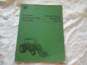 John Deere 48 farm loader operator's manual