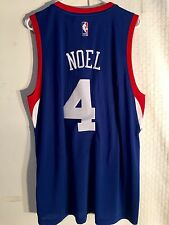 Adidas Swingman 2015-16 NBA Jersey Philadelphia 76ers Nerlens Noel Blue sz XL