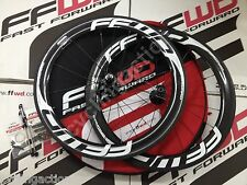 Fast Forward FFWD F6R DT240s Wheel Set 20/24H Tubular White 11Sp Shimano