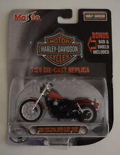 Maisto Harley Davidson Collector Red 1:24 2000 FXDX Dyna Super Glyde Sport