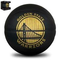 NBA Hardwood Series Basketball - Golden State Warriors  - Size 7 From Spalding