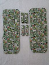 Mountain buggy duet pram liners set-Jungle animals-Includes 2 liners.