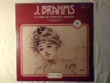 JANOS STARKER ABBA BOGIN Brahms: Le sonate per violoncello e pianoforte lp NUOVO