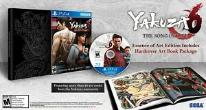 Yakuza 6 : The Song Of Life - Essence Of Art Edition - Sony PS4 - New & Sealed