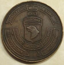 101st Airborne Task Force 1st BN 502nd Infantry MFO Sinai Army Challenge Coin