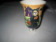 Boyds Bears Glowscapes Collection Trickster's Night Halloween Night Light