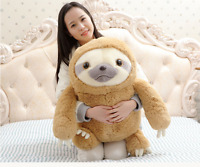 Hot Cute Giant Sloth Stuffed Plush Animal Doll  Soft Toys Pillow Cushion Gift