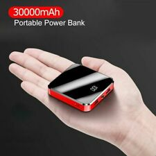 Mini Power Bank For iPhone Xiaomi 30000mAh External Portable Battery Dual Ports