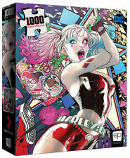"USAopoly Harley Quinn ""Die Laughing"" DC Comics 1000 Piece Puzzle"