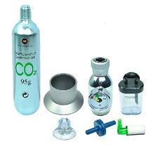 7 in 1 Kit Disposable Co2 System Regulator Cylinder 95g Aquarium Plant Tank