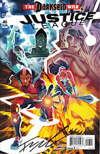 Justice League vol 2 issue 46 signed by Francis Manapul