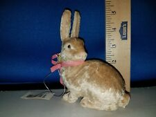 Rabbit Figure Velour over Resin 71065 269