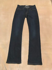 LEVI'S 715 BOOT CUT JEANS WOMEN'S STRETCH W29 L32 DARK BLUE STRAUSS